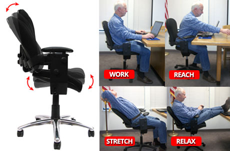 The top 4 chairs for back pain sufferers for Best furniture for bad backs
