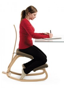 can a kneeling chair help with core strength